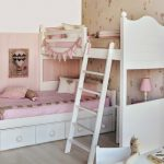 Фото 164: Расположение кроватей в комнате для двух девочек