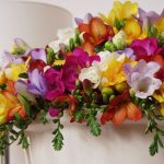 Фото 106: Разноцветный букет из фрезий