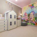 Фото 230: Детская комната в стиле сказочного города