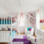Фото 106: Дизайн детской для девочек в белых тонах