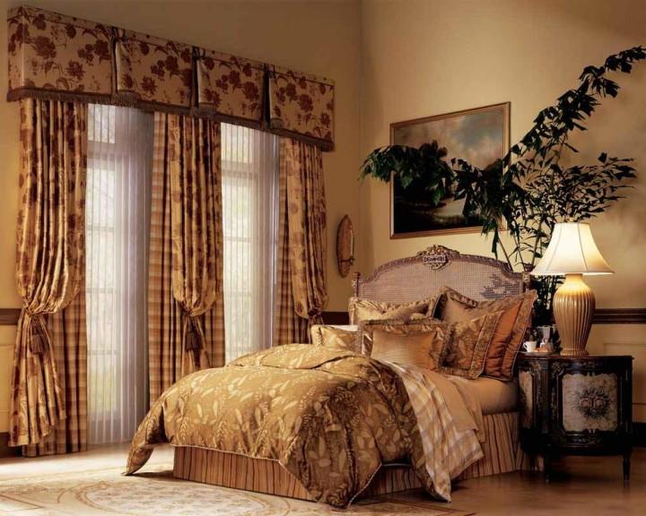 Оригинальные шторы для спальни