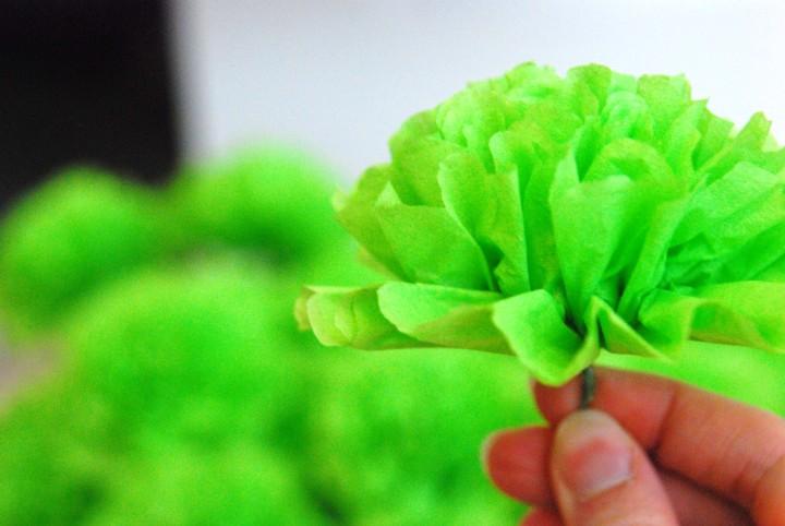 Цветок из салфетки своими руками