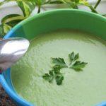 Фото 109: Суп-пюре из лука порея и броколли