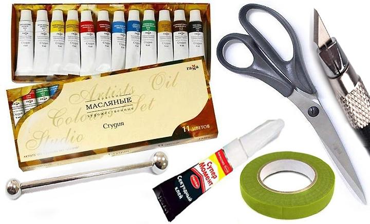 Необходимые инструменты для работы с холодным фарфором