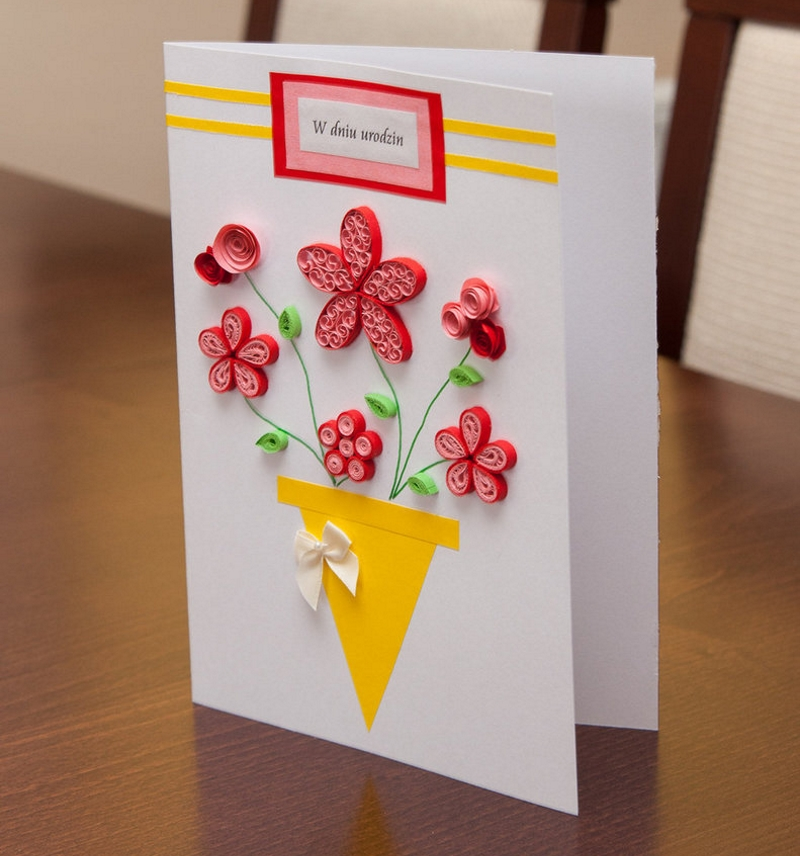 виды открыток маме на день рождения своими руками двенадцатилетние дети