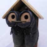 Фото 43: Скворечник из двух ботинок
