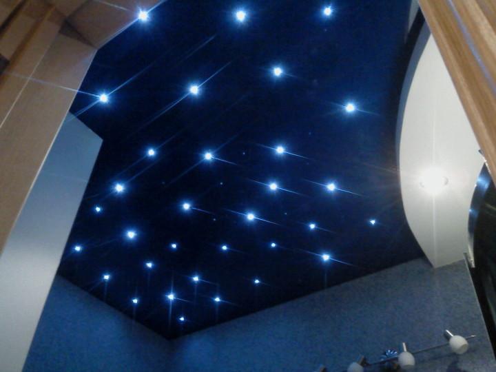 """Люстра под натяжной потолок с эффектом """"звездное небо"""""""