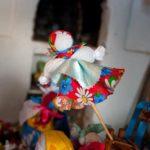 Фото 5: Масленица маленькая на палочке своими руками
