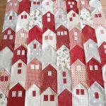 Фото 138: Идея лоскутного шитья домики