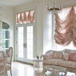 Фото 67: Французские шторы в гостиной