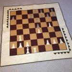 Фото 110: Пэчворк коврик для шахмат