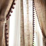 Фото 34: Натуральные льняные шторы