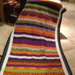 Фото 122: Одеяло из полосок