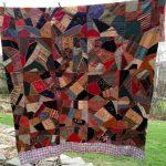 Фото 84: Одеяло в стиле крэйзи пэчворк