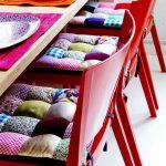 Фото 61: подушки на стулья в технике пэчворк