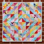 Фото 106: Ромбы из треугольников пэчворк