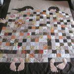 Фото 70: Забавное одеяло в технике пэчворк