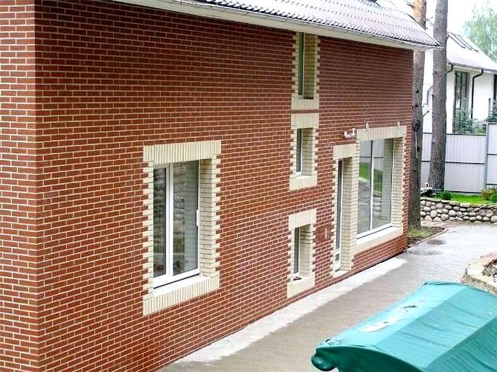 Клинкерные панели для фасада2