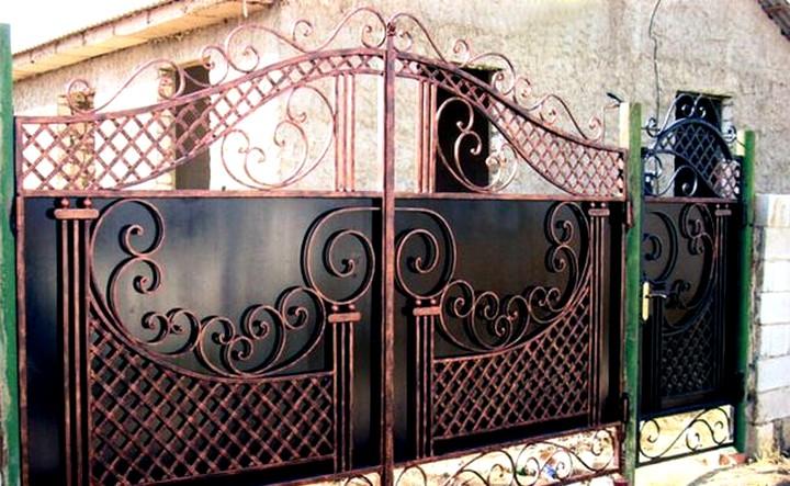 кованые ворота и калитки (4)