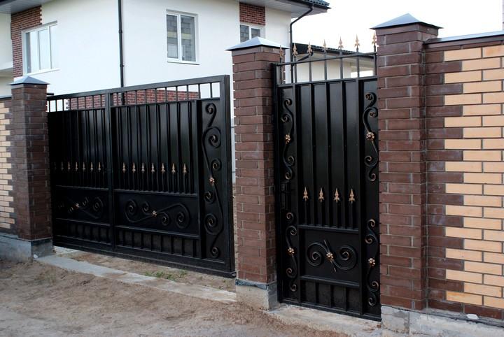 кованые ворота и калитки (5)