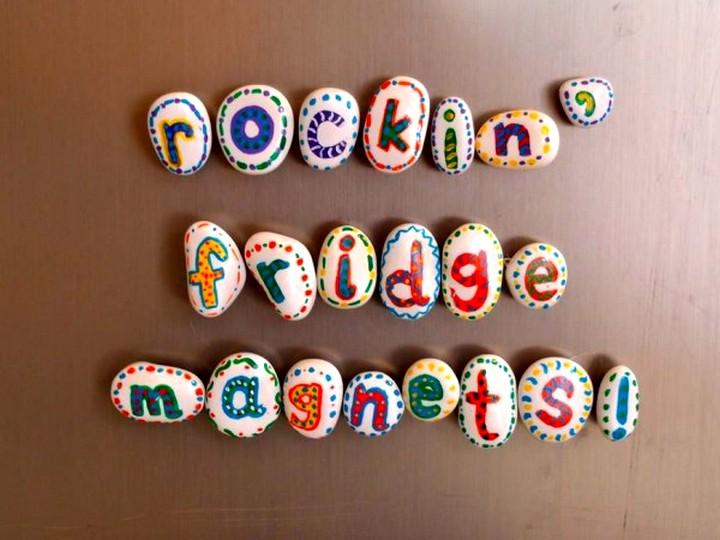 магниты на холодильник  своими руками