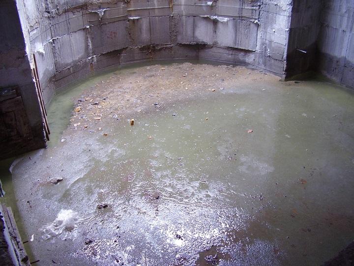 Ошибки внутренней гидроизоляции подвала от грунтовых вод