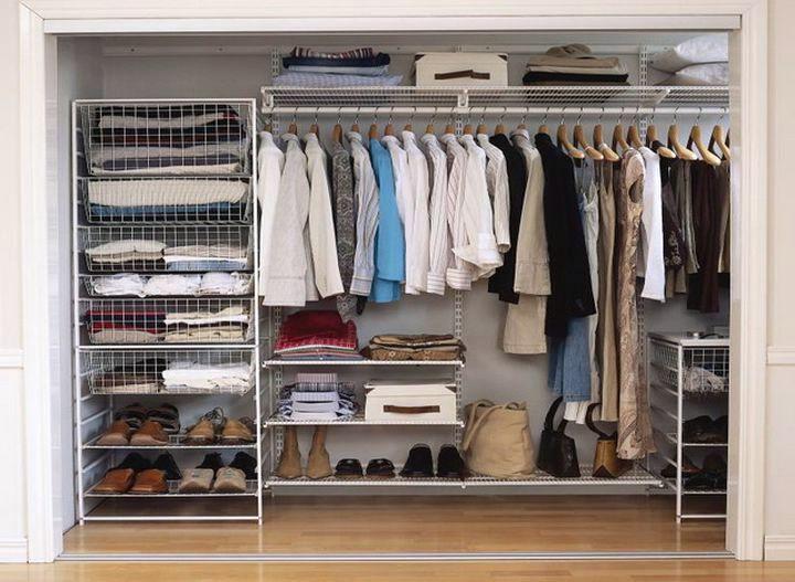 Вместительная гардеробная