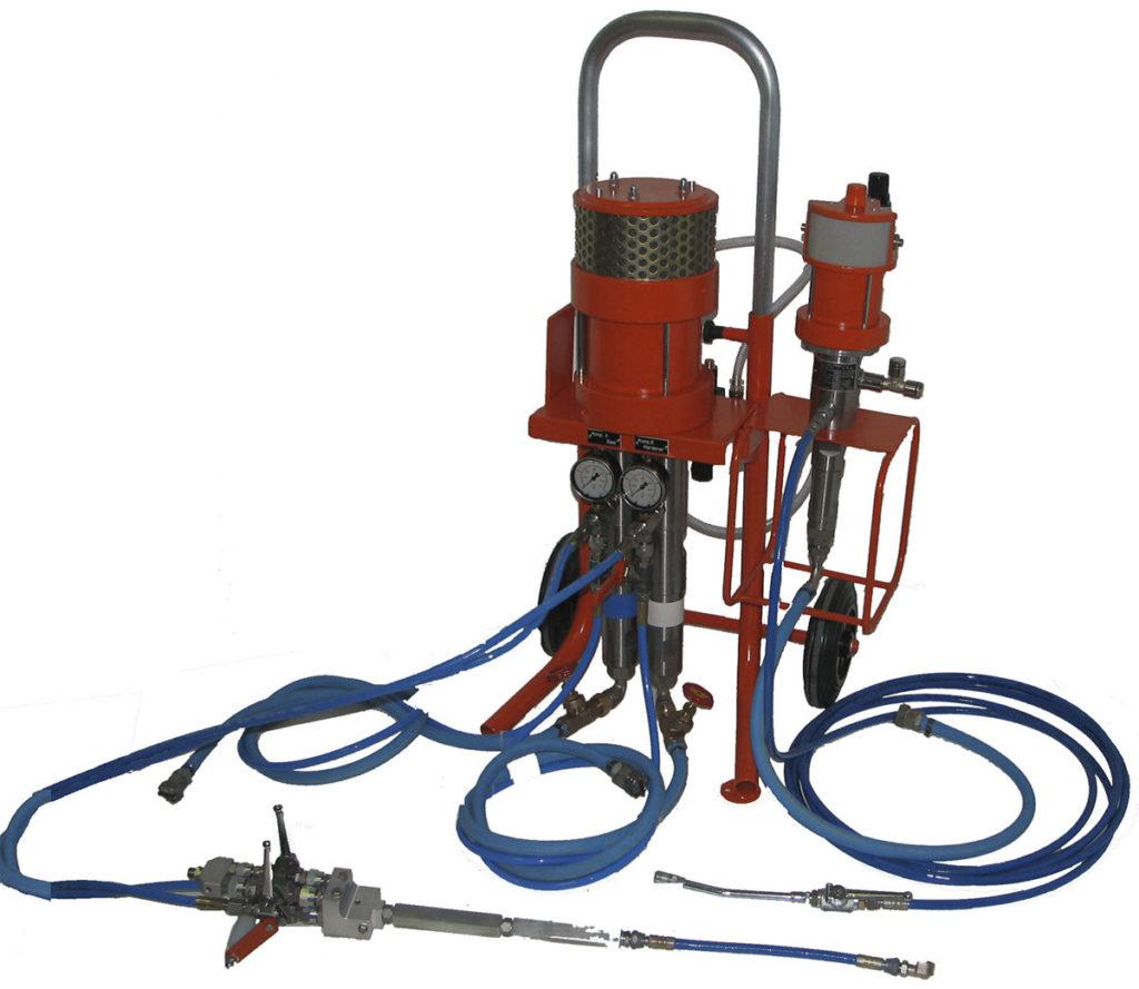 Оборудование для внутренней инъекционной гидроизоляции подвалов