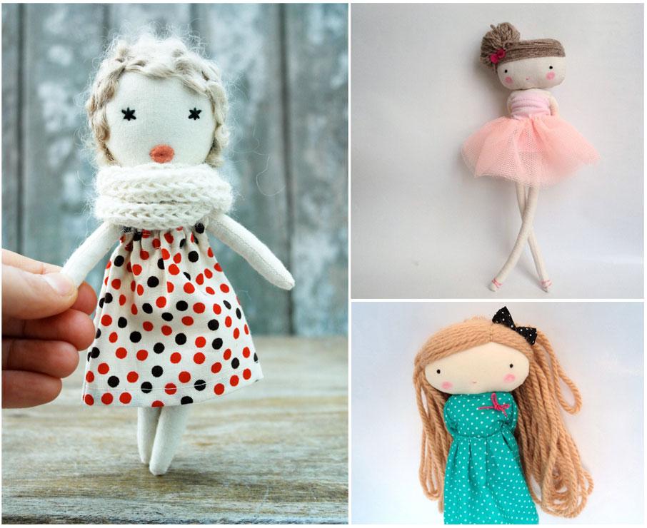 Куколки, выполненные своими руками