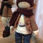 Фото 107: Интерьерная кукла