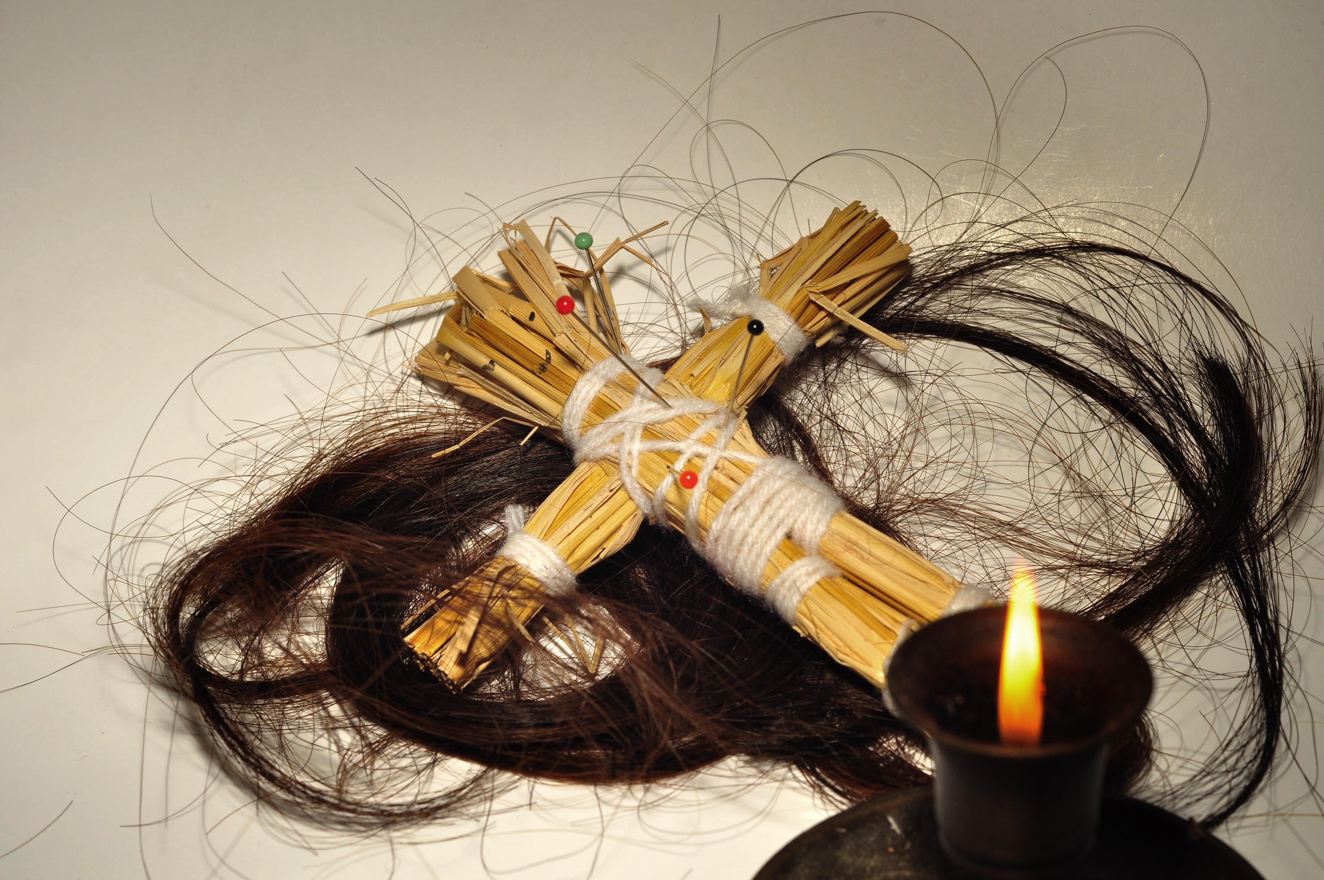 Кукла вуду для религиозных обрядов