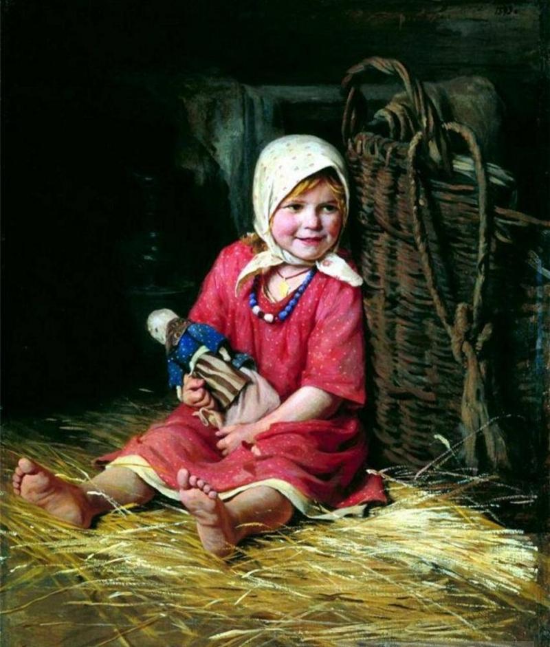 Крестьянская тряпичная кукла