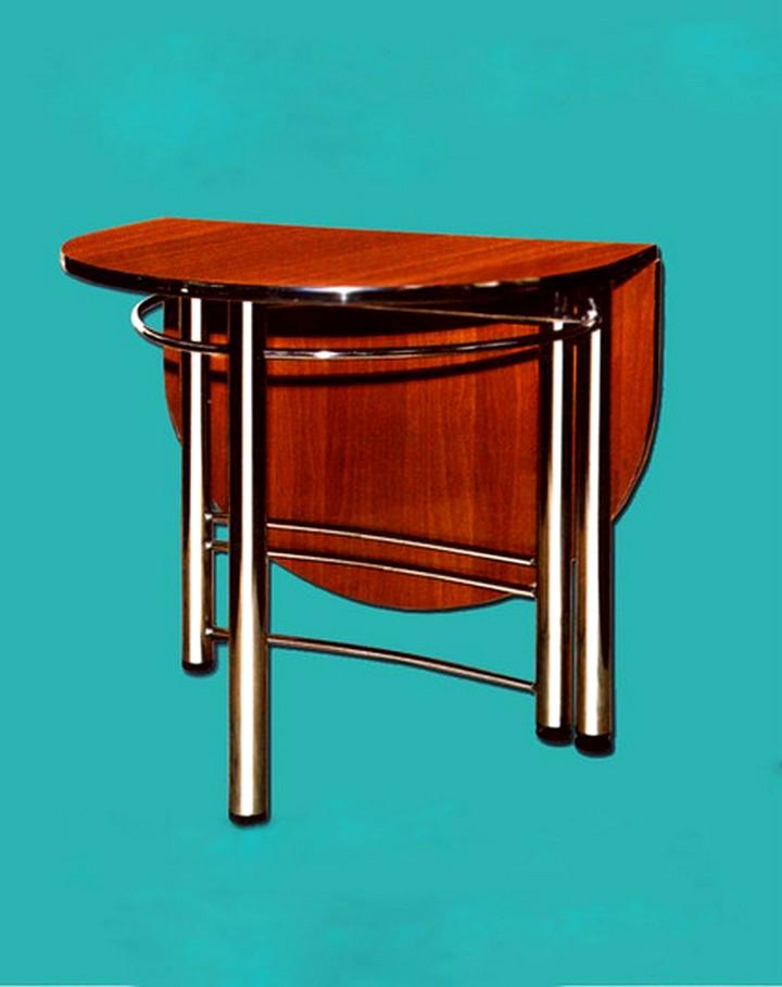 Кухонный стол деревянный пристенный