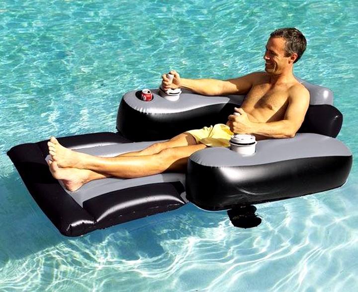 надувной матрас для купания
