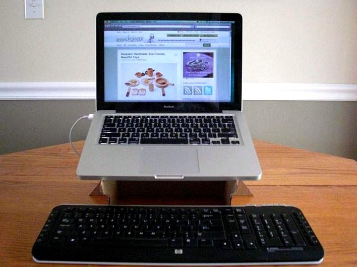 подставка для ноутбука своими руками 2