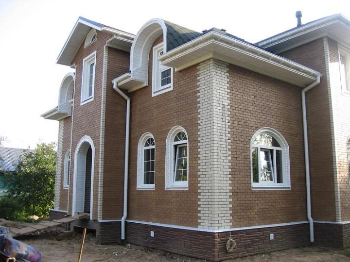 Выбор цокольных панелей для декорирования здания целиком