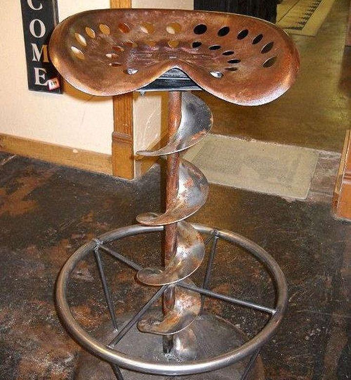 Креативный барный стул