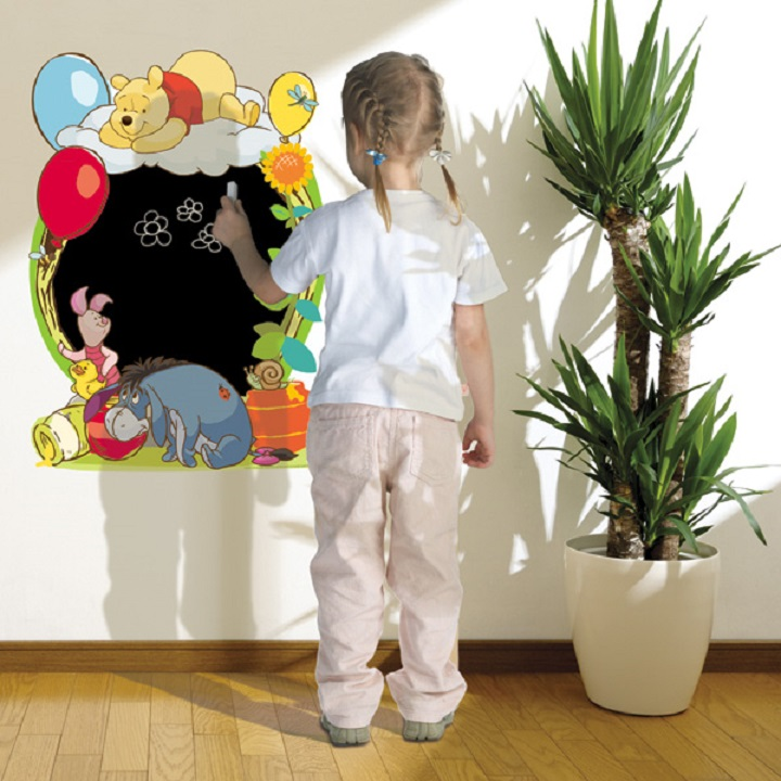 Самоклеящаяся доска для рисования в детской комнате