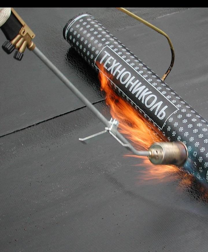 Рулонная гидроизоляция с наплавляемым нижним слоем