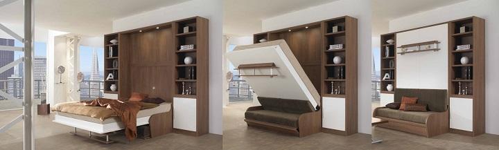 Шкаф-кровать-диван трансформер три в одном