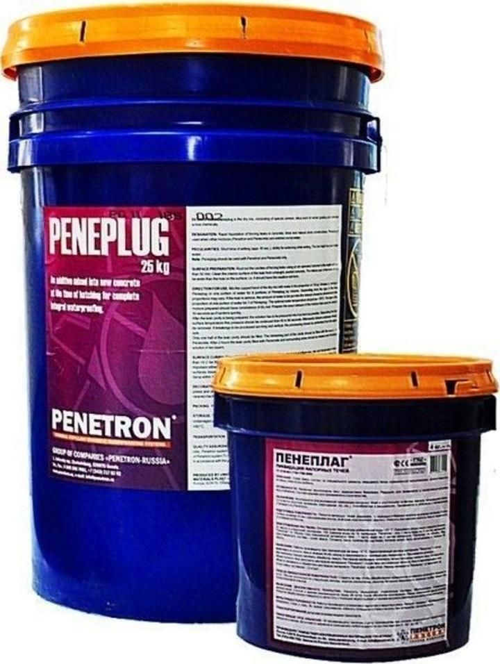 Гидроизоляционные материалы Пенетрон ля комплексной обработки кровли