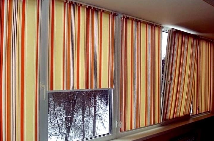Рулонные шторы на пластиковые окна3