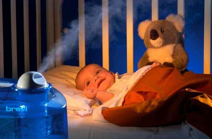 Увлажнитель воздуха для новорожденного