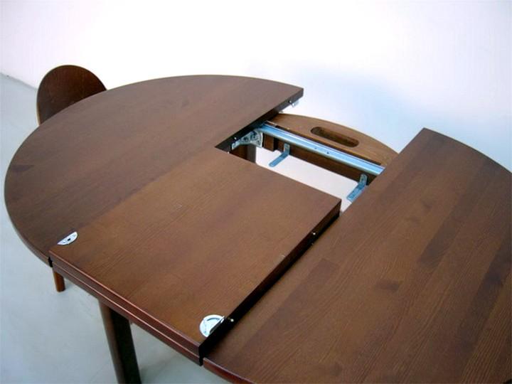 Раздвижной обеденный стол своими руками