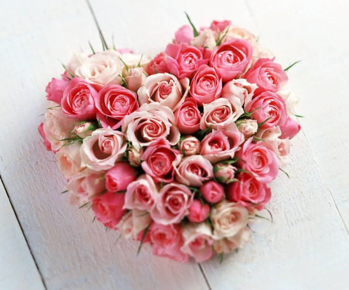 Букет на день Святого Валентина