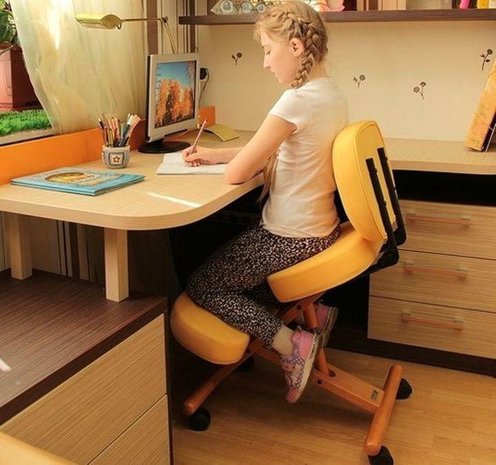 Удобный коленный стул