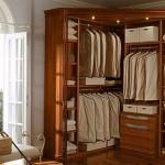 Фото 27: Наполнение углового шкафа купе в спальне
