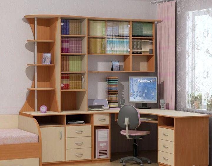 Комфортный письменный стол