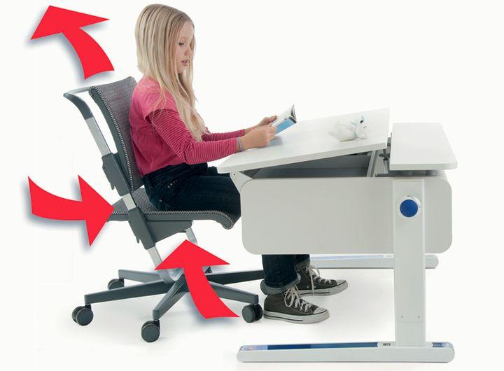 Раздвижной механизм стула для ребенка