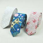 Фото 37: Новогодние галстуки